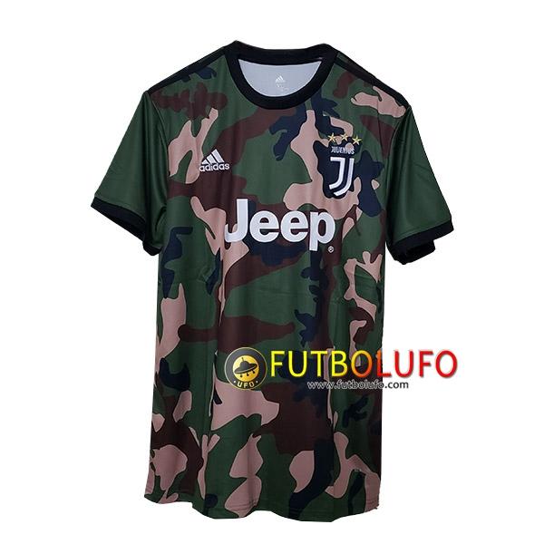 Nueva Camiseta de Juventus Camuflaje 2019 2020 Tailandia