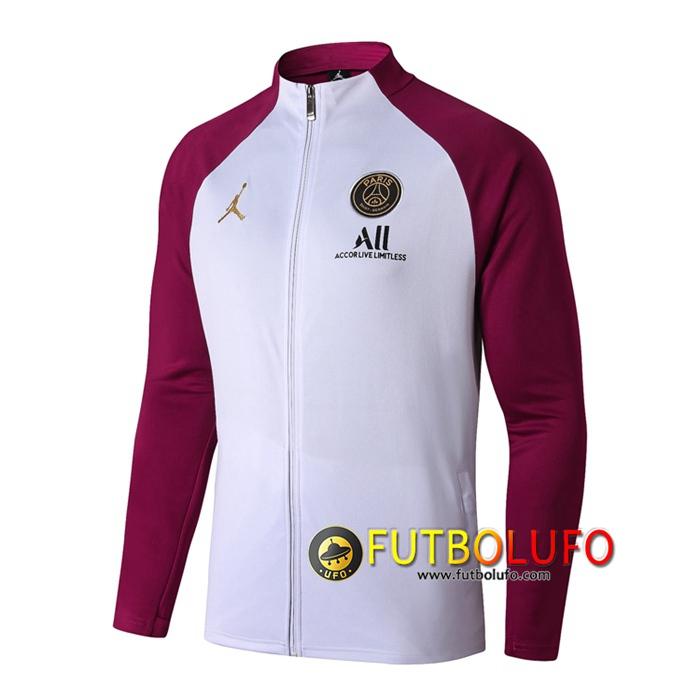 Nueva Chandal del Pairis PSG Blanco 2020 2021 Chaqueta + Pantalones